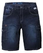 Replika Bermuda jeans bleu délavé de 2XL à 8XL
