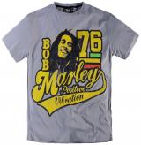T-shirt imprimé Bob Marley Gris 2XL à 8XL