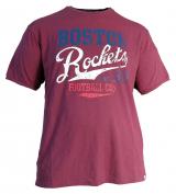 T-shirt manches courtes imprimé bordeaux de 3XL à 8XL