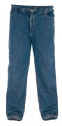 Jeans 5 poches bleu délavé Confort