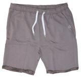 Short sweat détente gris peau éléphant