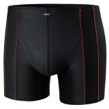 Boxers - Pants - Shorty microfibre de qualité noir grande taille 2XL au 8XL