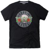 T-shirt Rock Guns N' Roses  manches courtes noir 3XL à 8XL