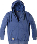 Sweat avec capuche bleu 3XL à 8XL