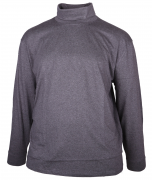 T-shirt manches Longues sous-pull Mélange de gris 3XL à 8XL