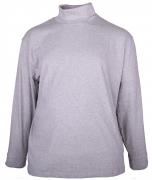 T-shirt manches Longues sous-pull Mélange de gris clair 3XL à 8XL