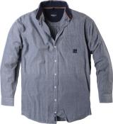 Chemise manches longues bleu de 2XL à 8XL