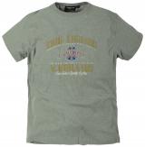 T-shirt manches courtes gris clair de 3XL à 8XL