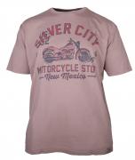 T-shirt manches courtes Beige  3XL à 8XL