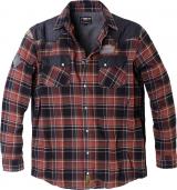 Chemise Bucheron - veste Replika carreaux bleu marine, noir, rouge  6XL à 7XL