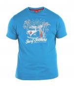 T-shirt manches courtes bleu atlantique de 3XL à 8XL
