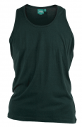 T-shirt sans manche bleu pétrole de 3XL à 8XL