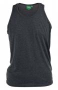 T-shirt sans manche gris foncé de 3XL à 8XL