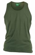 T-shirt sans manche kaki de 3XL à 8XL