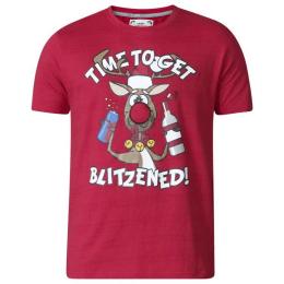 T-Shirt de Noël grande taille humoristique