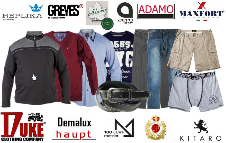 Vêtements Grande taille Homme - XL, XXL, 3XL, 4XL, 5XL, 6XL, 7XL, 8XL